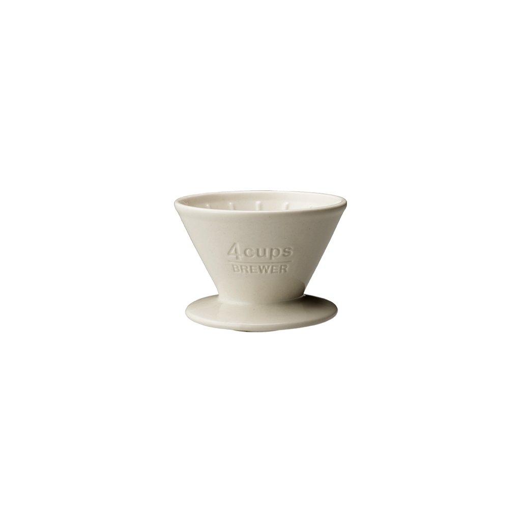 Brewer - Kinto SCS 4 šálky (bílý)