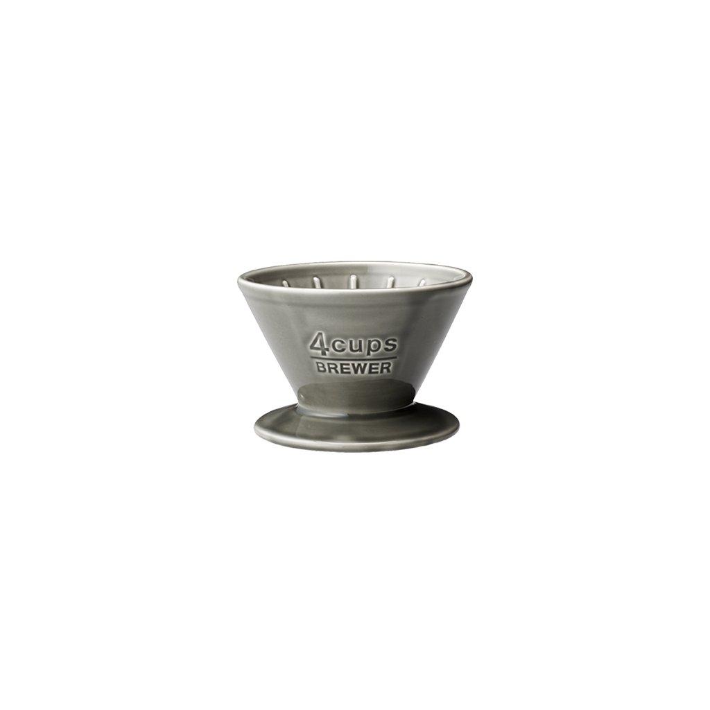 Brewer - Kinto SCS 4 šálky (šedý)