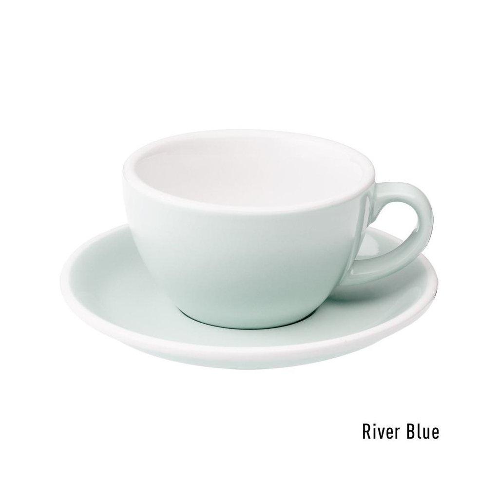 Cappuccino šálek - Loveramics Egg 200 ml (river blue)