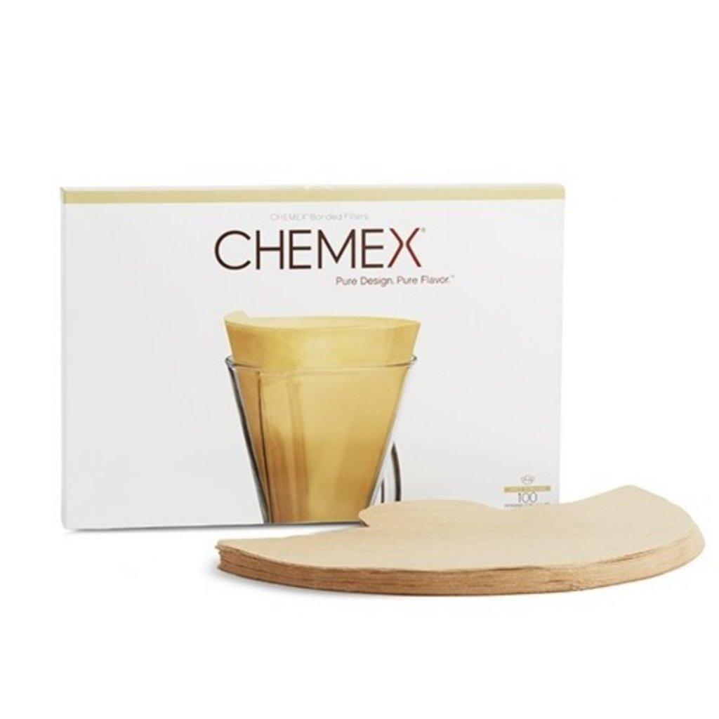 Chemex filtry - nebělené půlkruhové pro Chemex na 3 šálky