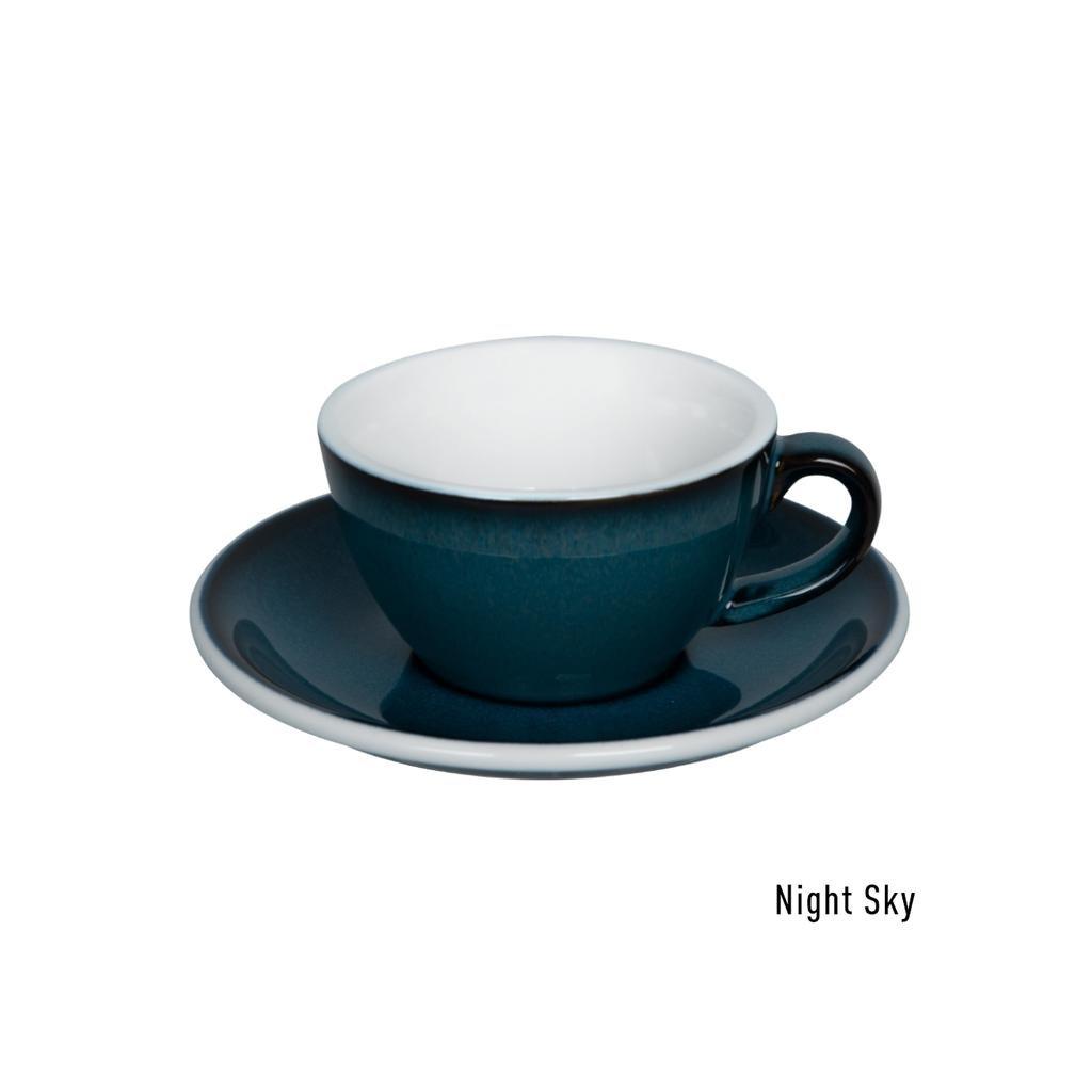 Flat white šálek - Loveramics Egg 150 ml (night sky)