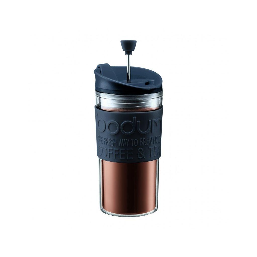 Travel French Press - Bodum 350 ml (černý)