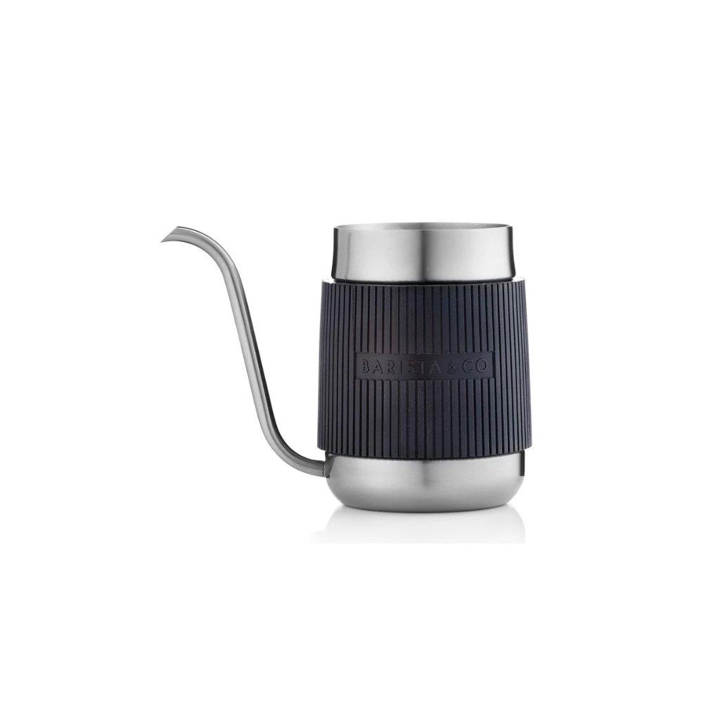 Barista & Co Shorty Pour Over konvice stříbrná 600 ml