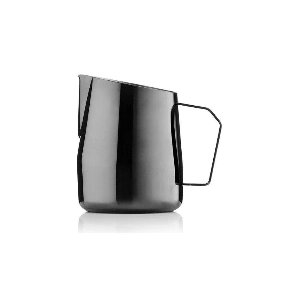 Konvička na mléko - Barista & Co Dial In 420 ml (černá)