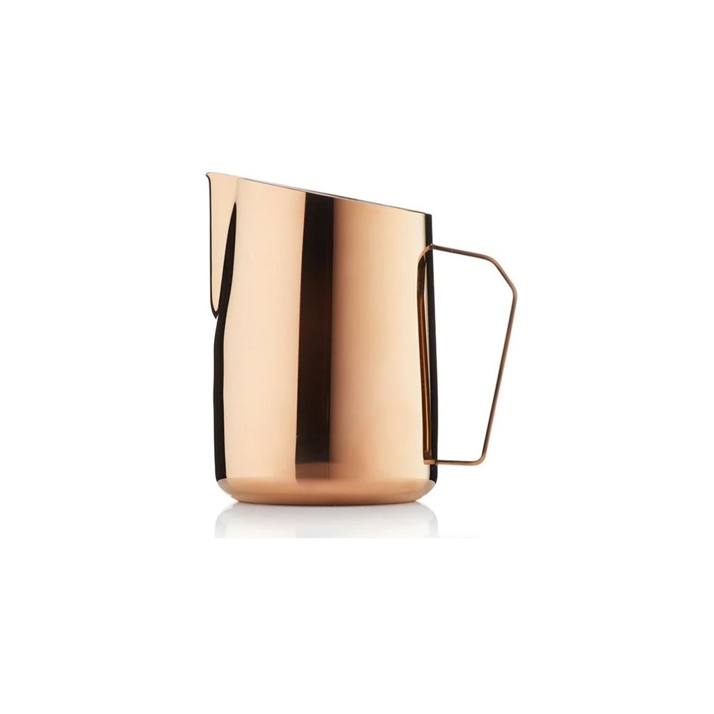 Konvička na mléko - Barista & Co Dial In 600 ml (růžová mosaz)