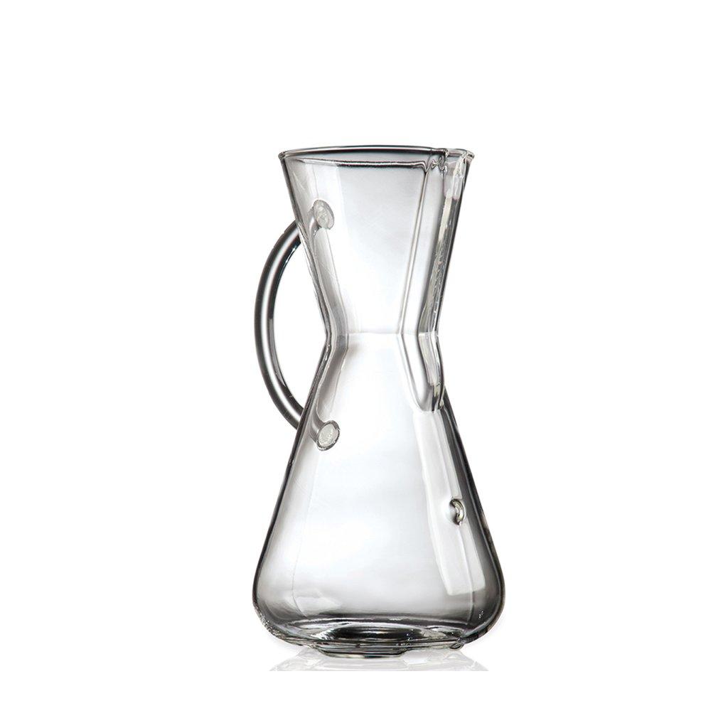 Chemex - 3 šálky (skleněná rukojeť)