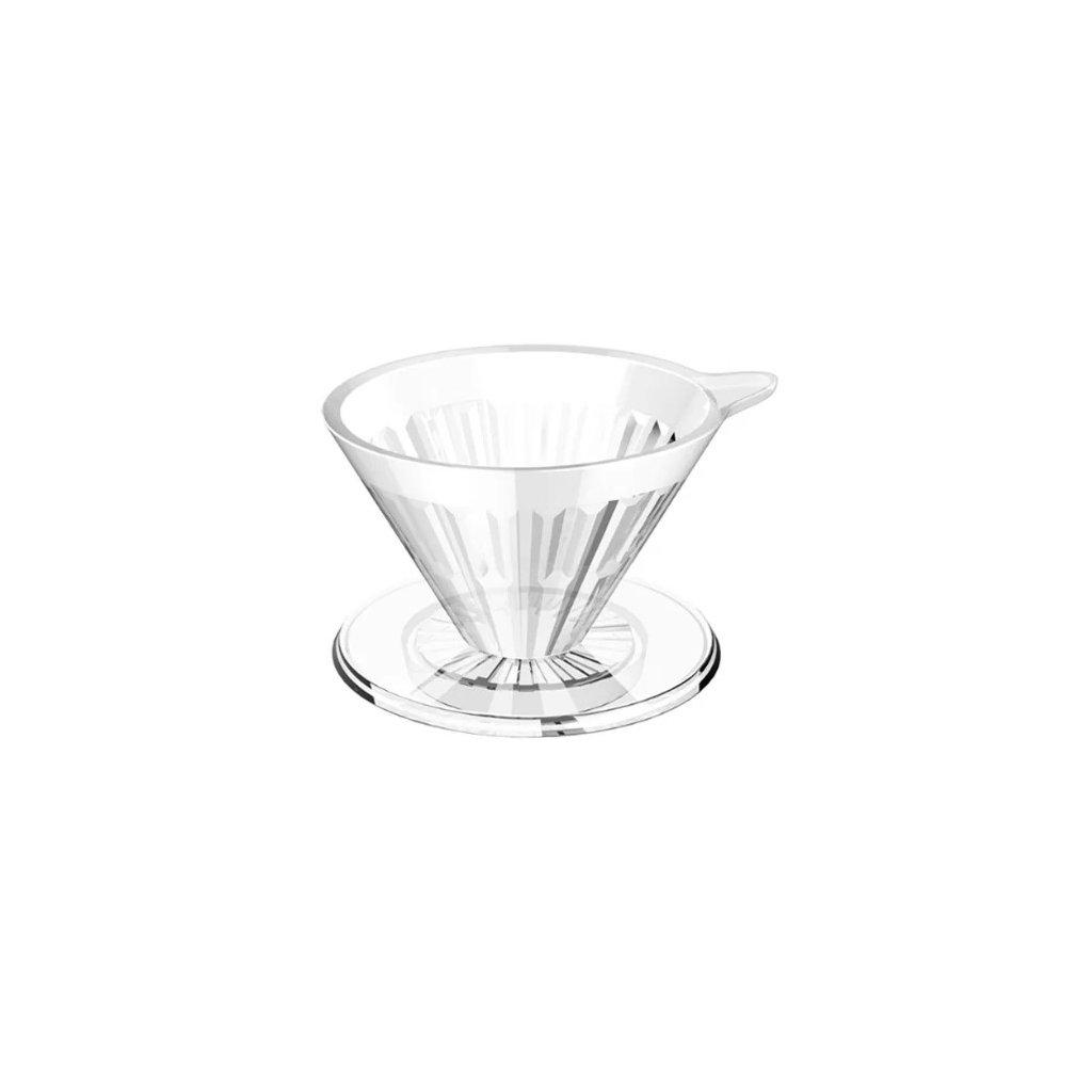 Plastový dripper - Timemore Crystal Eye 02 (čirý)