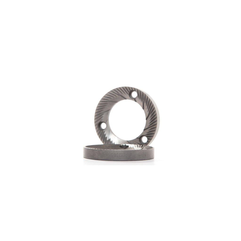 Ploché mlecí kameny Compak White 58mm (E5)