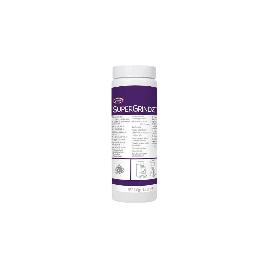 Granulát na čištění mlýnku - Urnex SuperGrindz 330 g