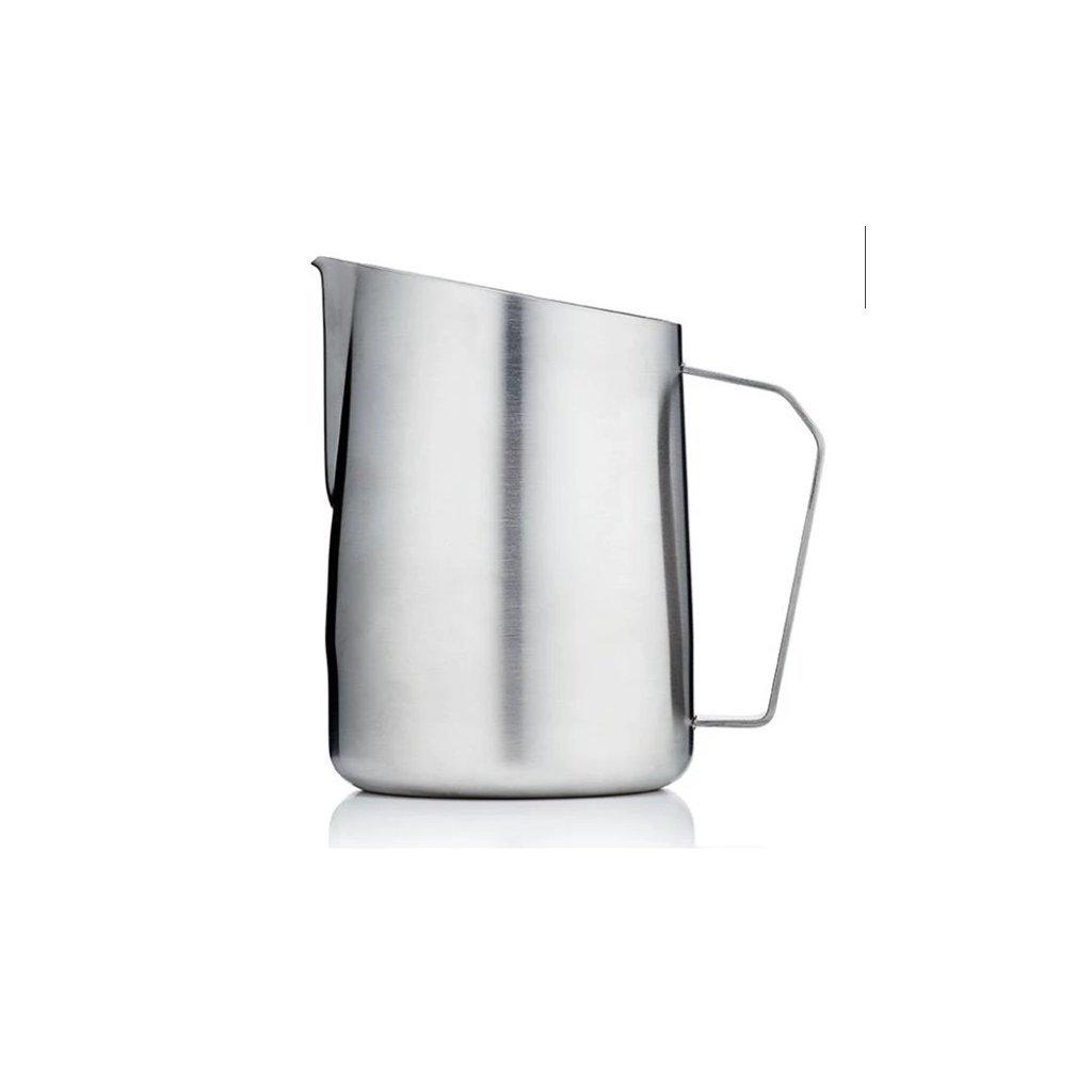 Konvička na mléko - Barista & Co Dial In 420 ml (nerez)