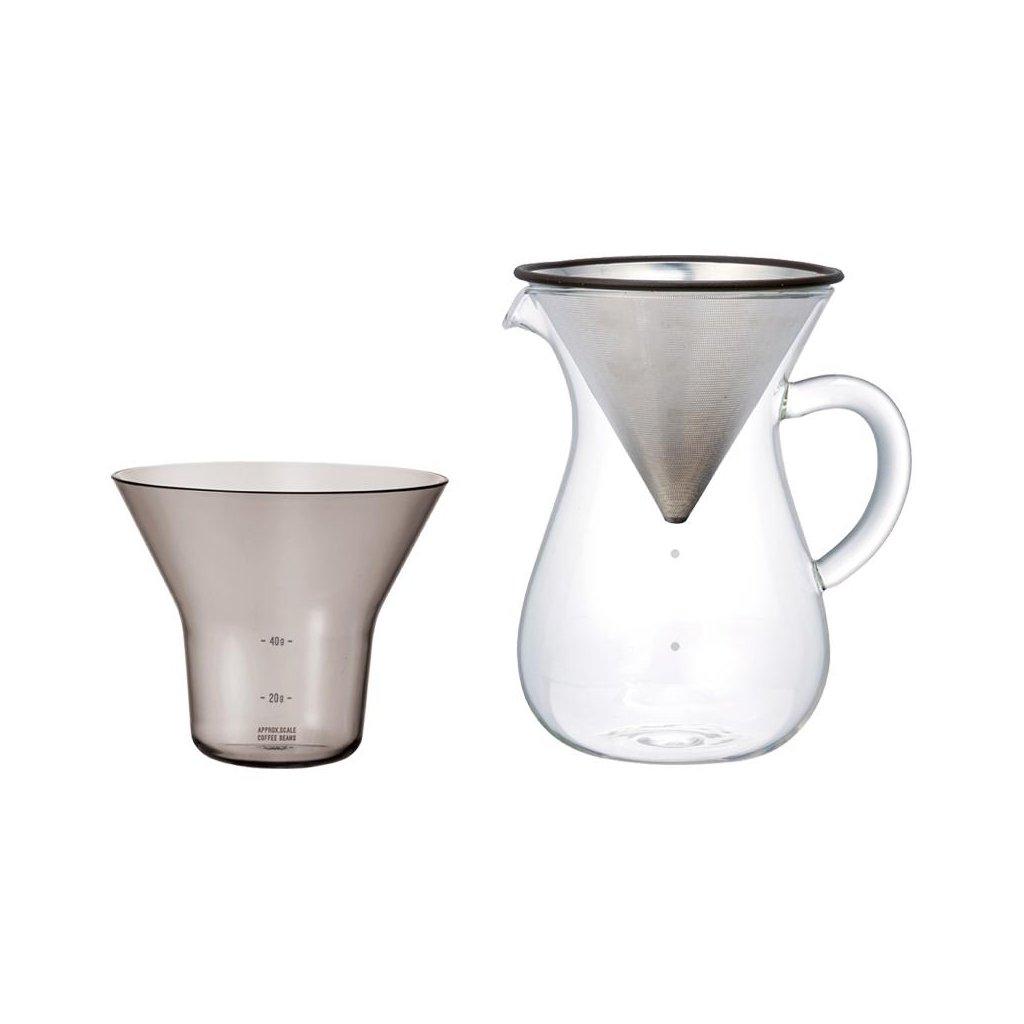 Karafa na kávu - Kinto SCS set (600 ml)