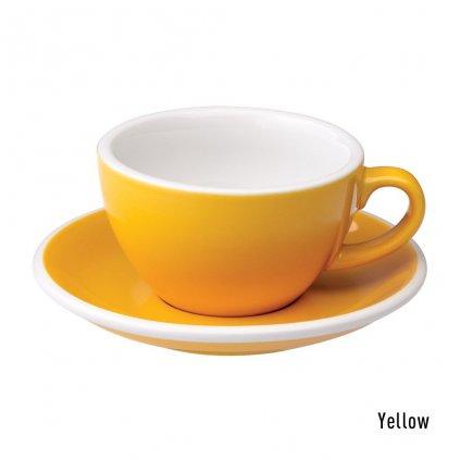 Cappuccino šálek - Loveramics Egg 200 ml (yellow)