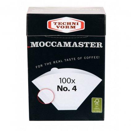 Moccamaster papírové filtry vel. 4 (100ks)