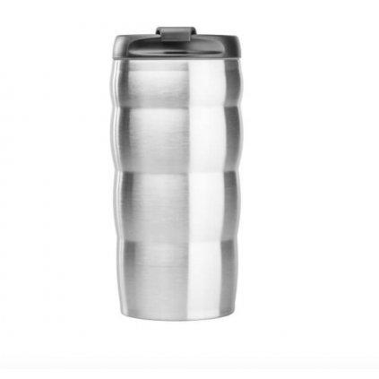 Termohrnek - Hario V60 Uchi 350 ml (stříbrný)