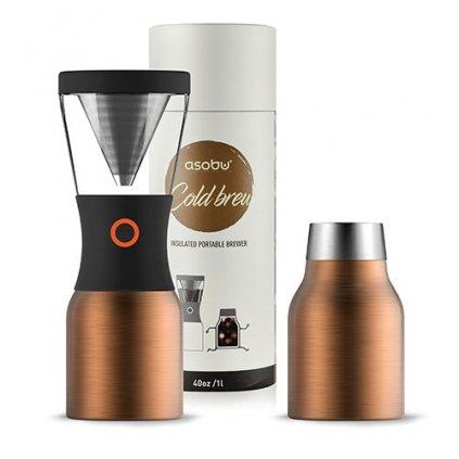 Kávovar na Cold brew - Asobu 1l (měď)