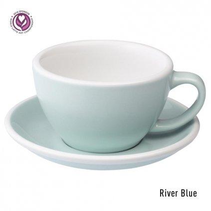 Latte šálek - Loveramics Egg 300 ml (river blue)