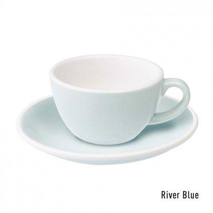 Flat white šálek - Loveramics Egg 150 ml (river blue)