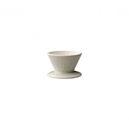 Brewer - Kinto SCS 2 šálky (bílý)