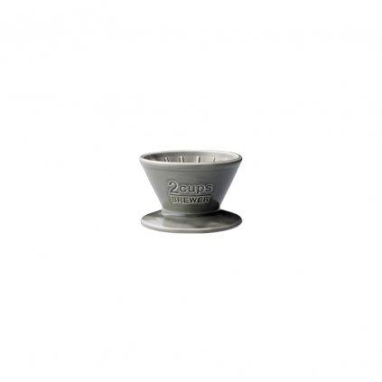 Brewer - Kinto SCS 2 šálky (šedý)