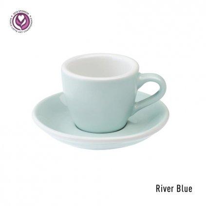 Espresso šálek - Loveramics Egg 80 ml (river blue)