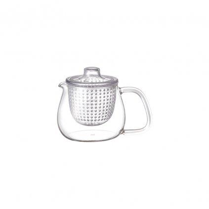 Konvička na čaj s plastovým sítkem - Kinto Unitea (500 ml)