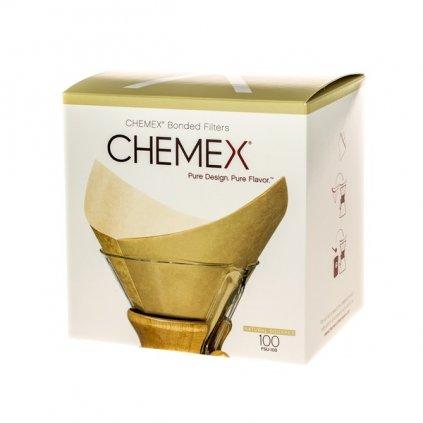 Chemex filtry - čtvercové nebělené pro Chemex na 6, 8 a 10 šálků