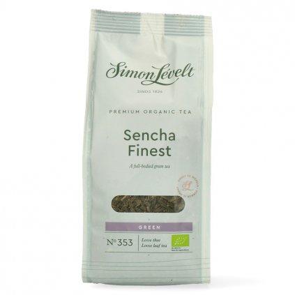 Simon Lévelt BIO sypaný čaj Sencha Finest 90 g