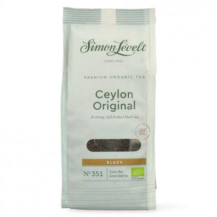 Simon Lévelt BIO sypaný čaj Ceylon Original 90 g