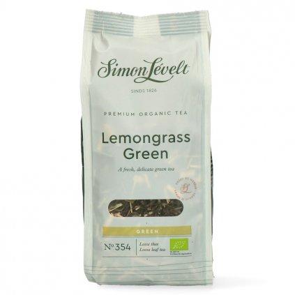 Simon Lévelt BIO sypaný čaj Zelený s citronelou 90 g