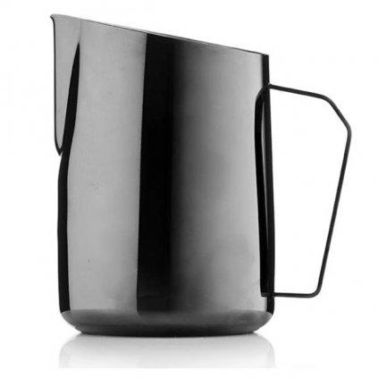 Konvička na mléko - Barista & Co Dial In 600 ml (černá)