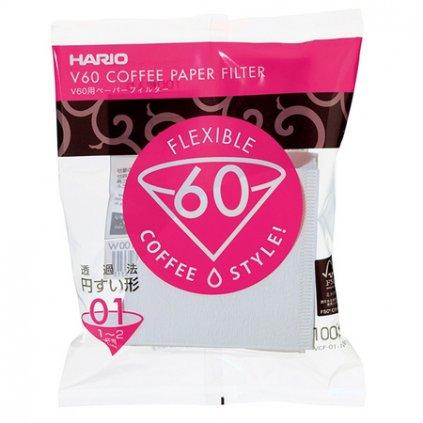 Papírové filtry - Hario V60-01 | 100 ks