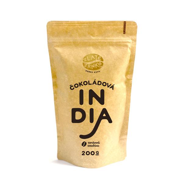 káva zlaté zrnko india coffeeport akcia balíček