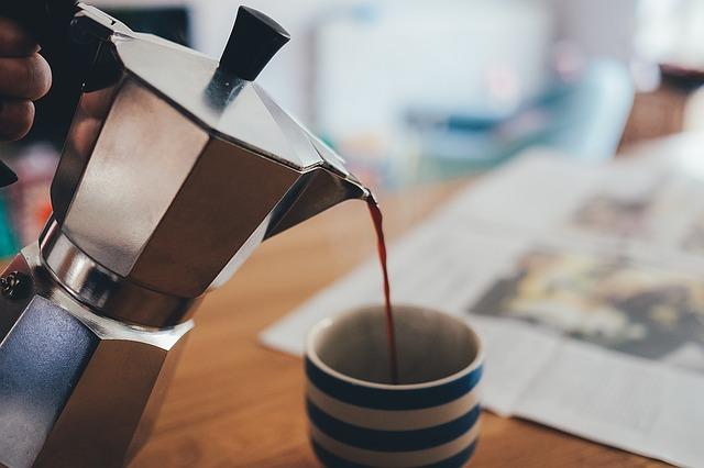 mokka káva príprava koťogó