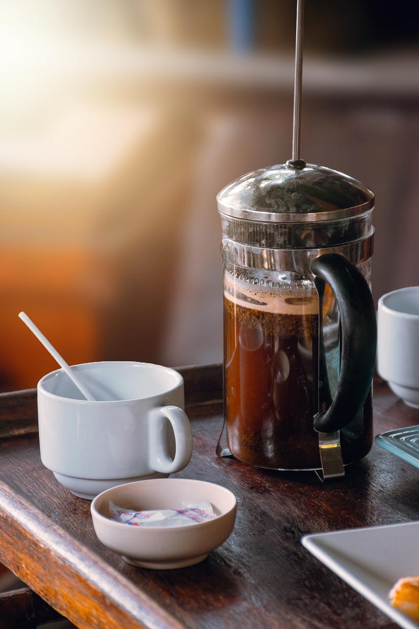 french press káva coffeeport
