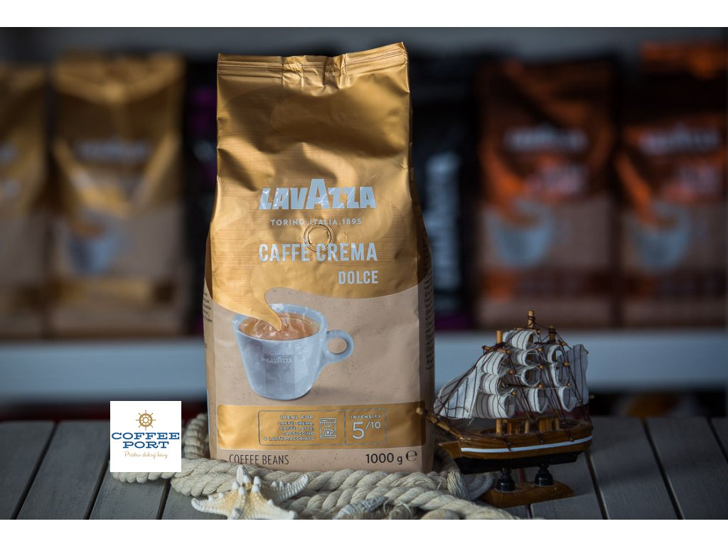 zrnkova kava lavazza caffe crema dolce coffeeport 019
