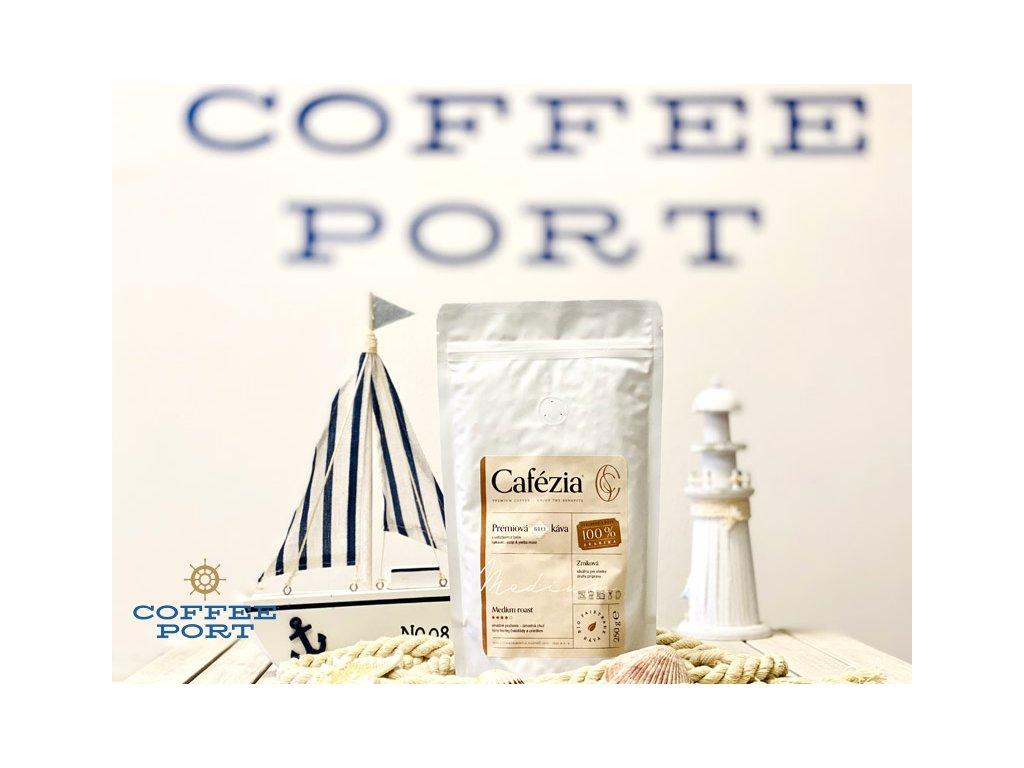 cafezia medium roast zrnkova coffeeport