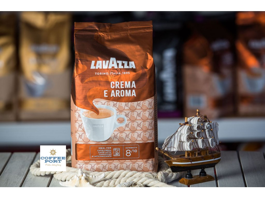 zrnkova kava lavazza crema e aroma coffeeport 015