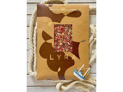 Lyra čokoláda Premium Milk s posypom