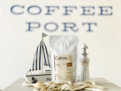 cafezia dark roast zrnkova kava