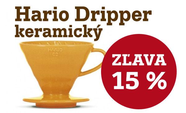 Akcia október 2021 - Hario Dripper farebný -15%