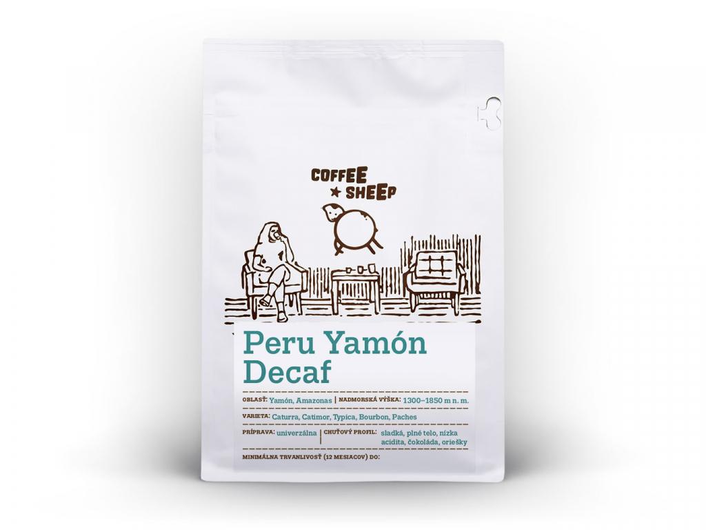 coffee sheep kava peru yamon decaf 250g a