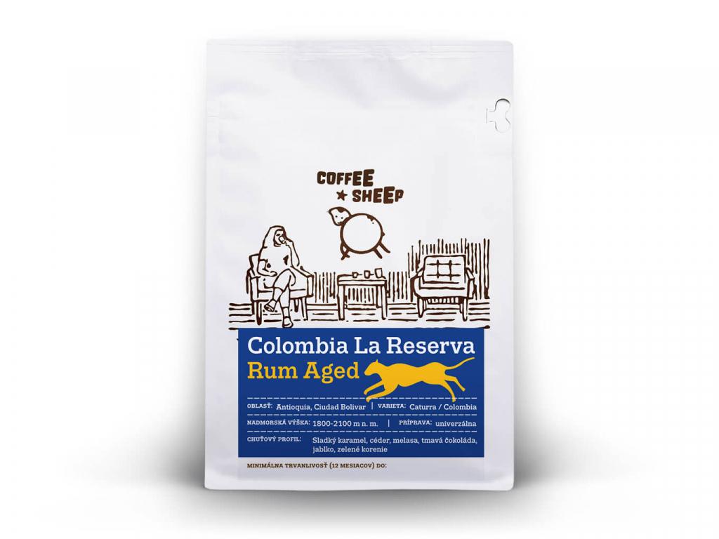 coffee sheep kava colombia la reserva rum aged 250g a