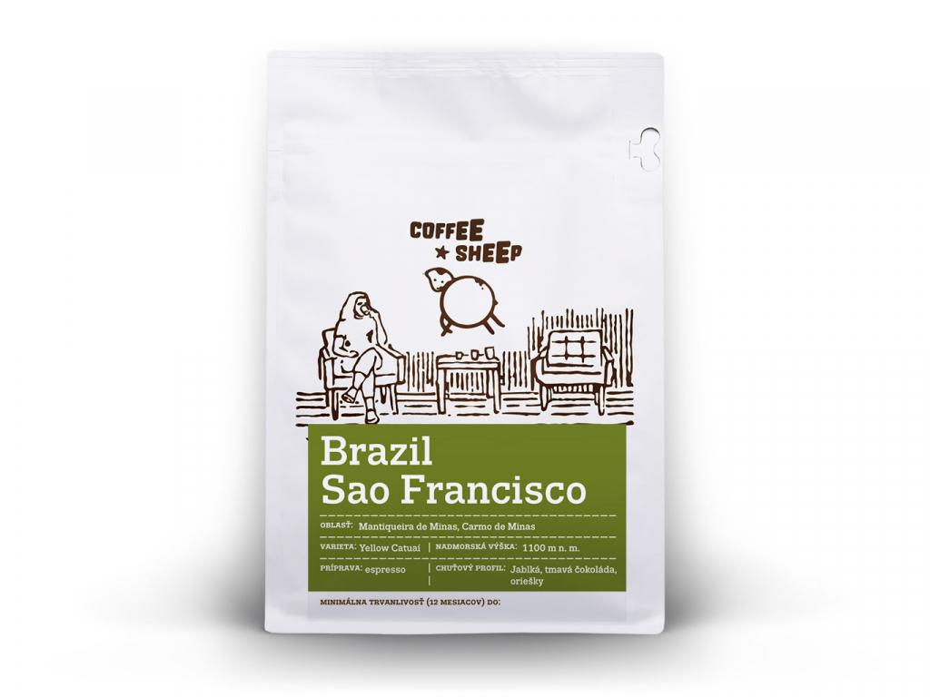 coffee sheep kava brazil sao franciso 250g a