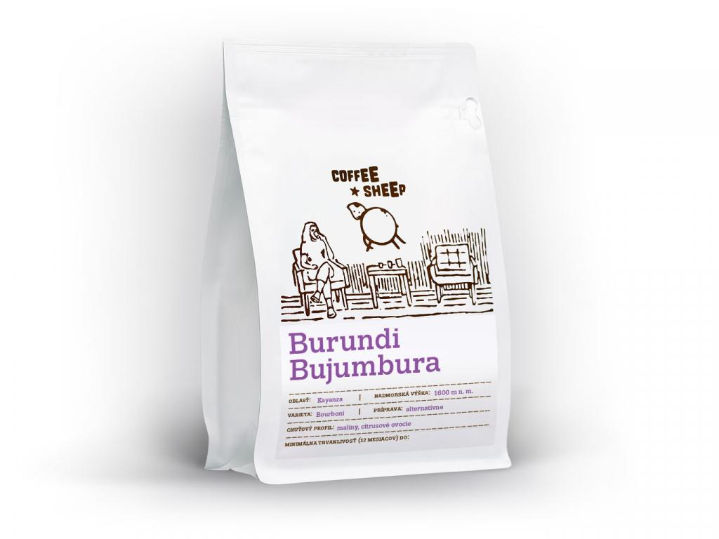 Coffee Sheep káva Burundi Bujumbura