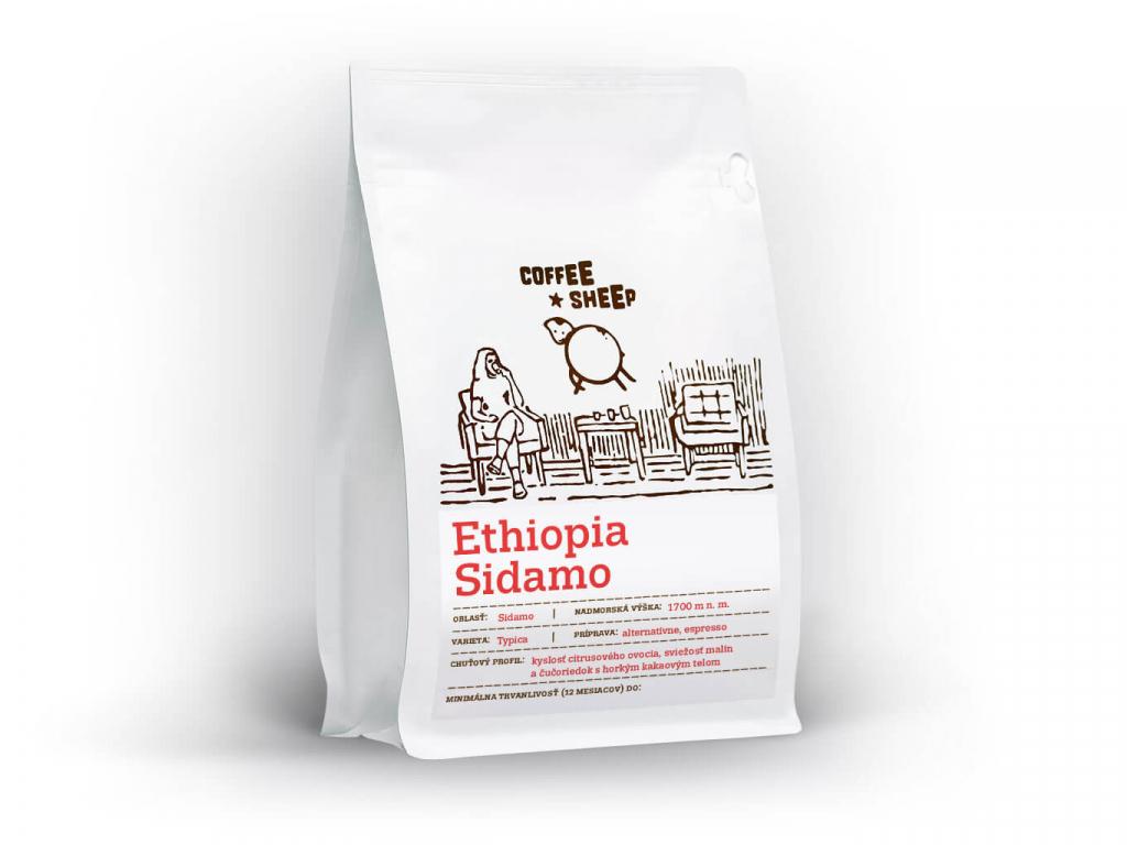 coffee sheep kava ethiopia sidamo 250g front a