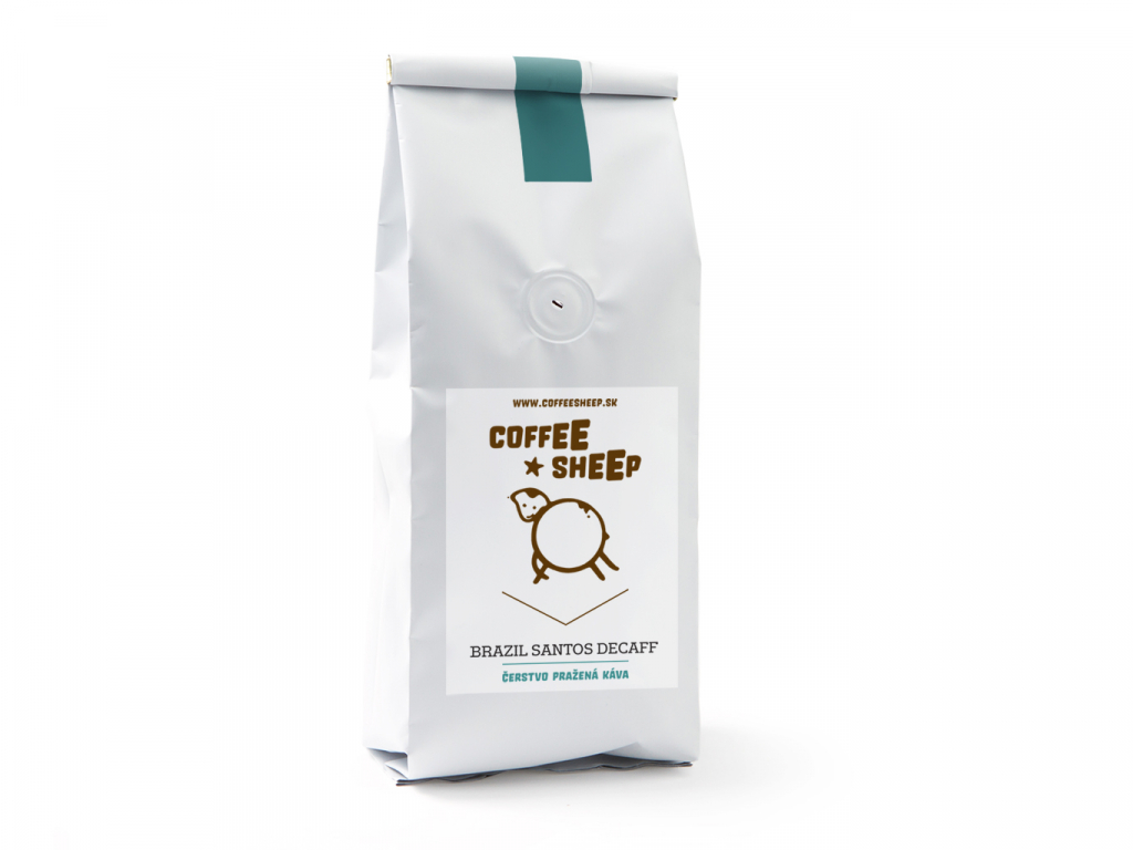 Coffee Sheep káva Brazil Santos Decaff
