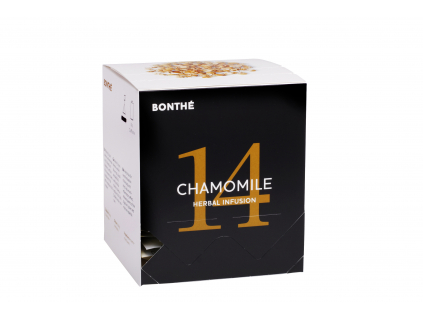 Coffee Sheep - čierny čaj Bonthé Chamomile - krabička