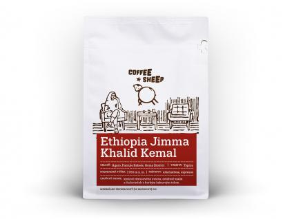coffee sheep kava ethiopia jimma khalid kemal 250g front a