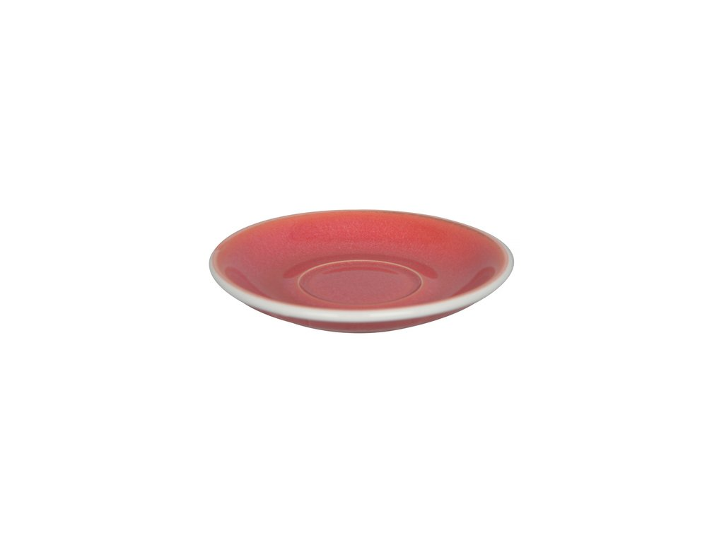 Loveramics Egg Flat White 150 ml Cup and Saucer Berry podsalka