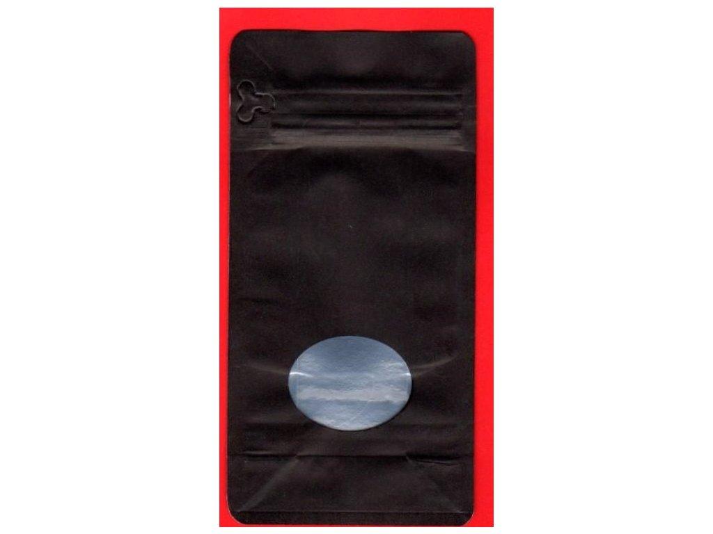 Vrecká na kávu čierne zip.+ ventil 500 g